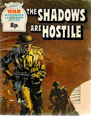 THE SHADOWS ARE HOSTILE No 1089 1975 48237  War Picture Library