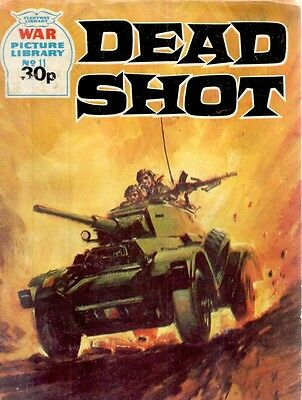 1985 No 11 37420 War Picture Library  DEAD SHOT