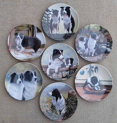 ROYAL WORCESTER - THE BORDER COLLIE COLLECTION by JOHN SILVER - SELECTION.