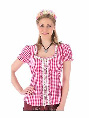 Krüger-dirndl Traditional Costume Blouse Ally Pink