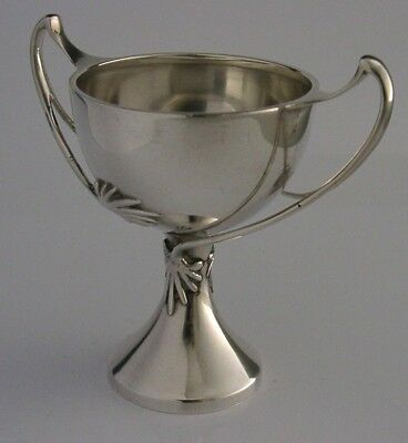 Beautiful English Solid Sterling Silver Art Nouveau Cup Chalice 1927