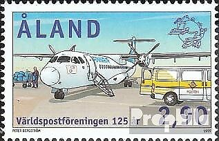 Finland-Aland 161 (complete issue) unmounted mint / never hinged 1999 UPU