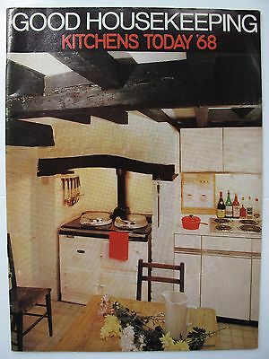 KITCHENS TODAY '68 - issued by GOOD HOUSEKEEPING magazine