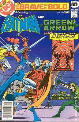 Brave and the Bold (1st Series DC) #144 1978 VF Stock Image