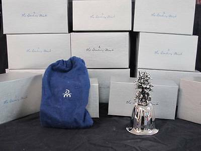 Vintage 1974-1987 Danbury Mint Holiday Bell Set of 15
