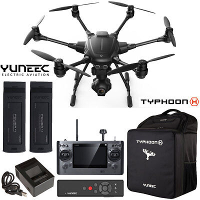Yuneec Typhoon H RTF Drone Pro Bundle with Wizard Wand, Extra Battery & Backpack