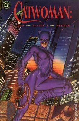 Catwoman Her Sister's Keeper TPB (DC Edition) #1-1ST 1991 FN