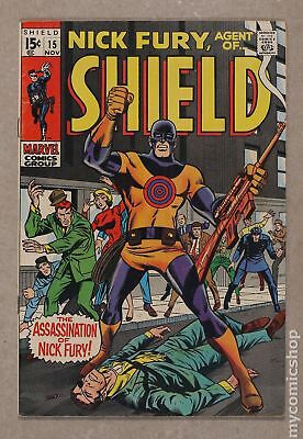Nick Fury Agent of SHIELD (1st Series) #15 1969 FN- 5.5