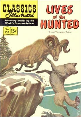 Classics Illustrated 157 Lives of the Hunted #1 1960 VG+ 4.5 Stock Image