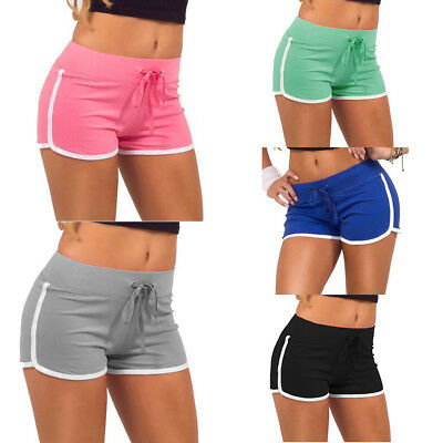 Women Mini Hot Pants Sports Shorts Gym Workout Yoga Fitness Training Running