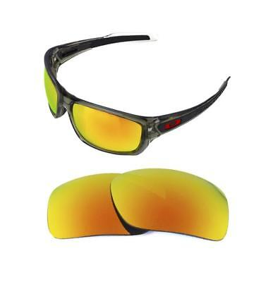 02f45f8cd92 New Polarized Replacement Fire Red Lens For Oakley Turbine Sunglasses