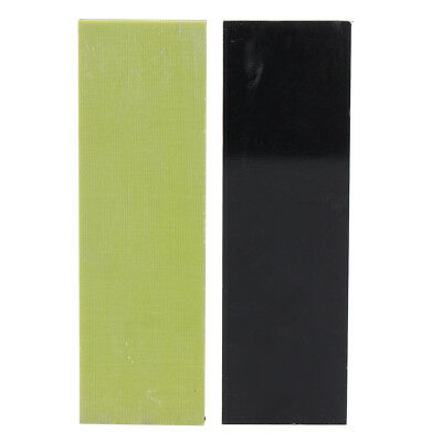 G10 Knife Handle Scales Multicolor 1/3''x1.6''x5'' &1/3''x2''x6.3'' Neon-Green