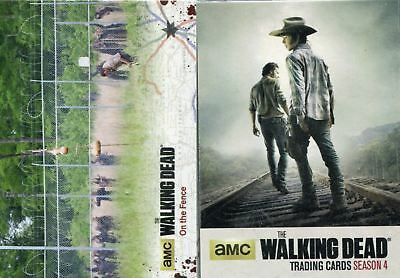 Cryptozoic Walking Dead Season 4 Part 1 & 2 Base Sets 144 Cards In Total SALE