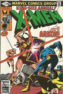 UNCANNY X-MEN ANNUAL (1979) #3 Back Issue (S)