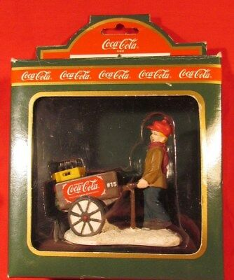 Coca-Cola Town Square Collection Accessoery, Figure, Street Vendor, NIB 64312