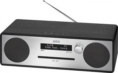 Hi-Fi System with DAB+ Radio ,CD , MP3, Bluetooth,USB, Aux-In AEG MC 4469 Black