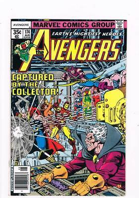 Avengers # 174  Captured by the Collector !  grade 9.2 scarce book !