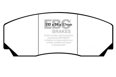 EBC Yellowstuff Front Brake Pads for Marcos LM 6.0 (1998)