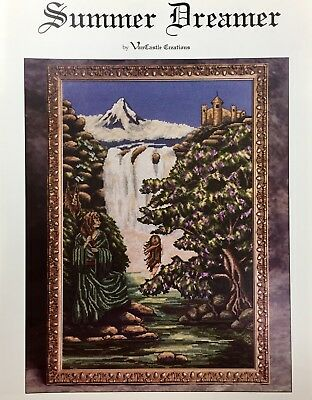 Summer Dreamer Counted Cross Stitch Chart. VanCastle Creations. Rare & OOP