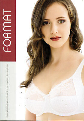 Format Katalog Dessous Luxus Catalogue Lingerie Lookbook Fashion Affiche