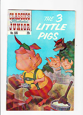 Classics Illustrated No.506   :: 1971 ::  :: HRN 576 ::  :: The 3 Little Pigs ::