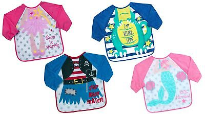 Babytown Terry Bib with Sleeves