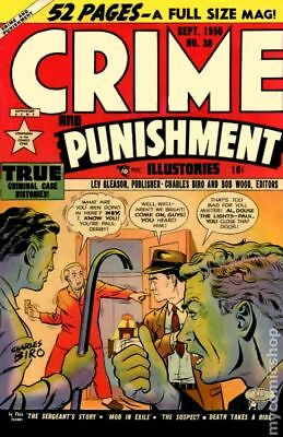 Crime and Punishment #30 1950 VG 4.0