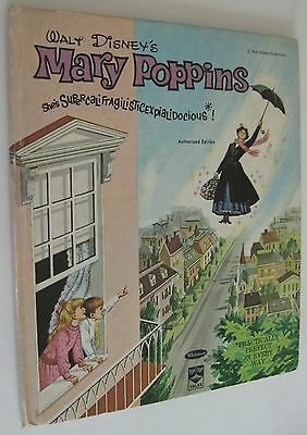 Vintage 1964 Walt Disney's MARY POPPINS Whitman 2450 Top Top Tales Hardcover