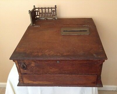 Antique 1893 General Store Cash Box/Register ( Reduced )