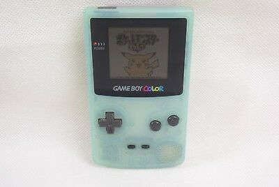 JUNK Game Boy Color ICE BLUE Console CGB-001 Not working Ref/25035 Nintendo gb