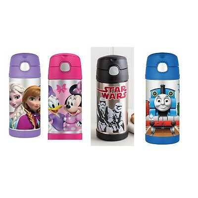 ONE Thermos Funtainer Kids Vacuum Insulated Drink Bottle 355ml Various Colour to