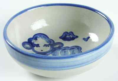 M A Hadley COUNTRY SCENE BLUE Lamb Cereal Bowl 5757649