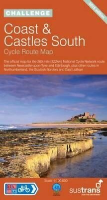 Coast and Castles South - Sustrans Cycle Routes Map Sustrans Of... 9781901389692