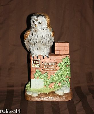 Ezra Brooks GREAT GREY OWL decanter LIMITED EDITION 1982 like JIM BEAM