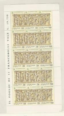 Vatican City, Postage Stamp, #931 Sheet Mint NH, 1993
