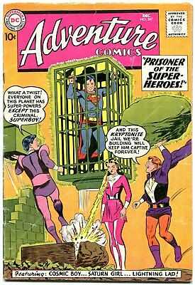 Adventure Comics #267 1959- 2nd Legion of Super-Heroes- Key issue rare vg