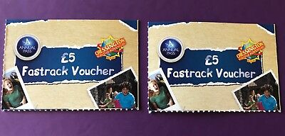 NEW Merlin Premium Annual Pass - Chessington World Fast Track Tickets x2