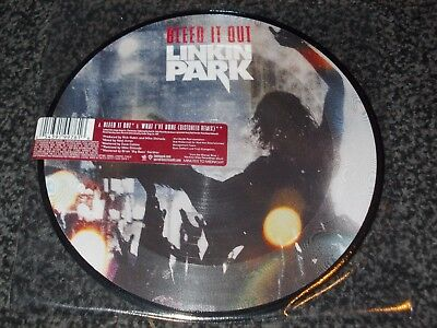 Linkin Park-Bleed It Out/what I've Done (Distorted Mix) Pic Disc  (Uk Press)