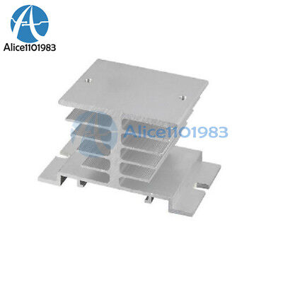 5PCS Aluminum Heat Sink for Solid State Relay SSR Small Type Heat 10A-40A