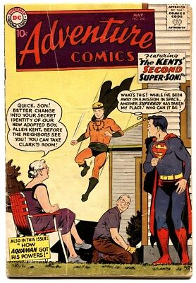 Adventure Comics #260 First Silver Age Aquaman origin issue