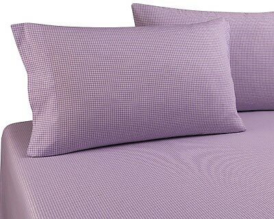 "PILLOWCASES by DELANNA, 100% Cotton Percale Weave Standard Size 20"" x 30"""