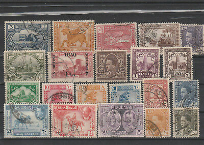 Iraq Iraq Middle East older Postage Stamps mix old Stamps mix Lot Am 5193