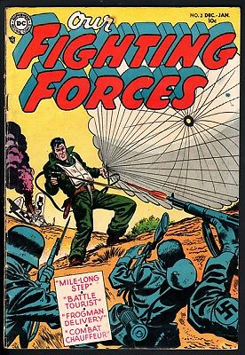 Our Fighting Forces #2 1954-Dc War Comics--Ww Ii
