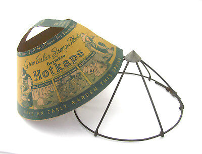 Neat Vintage Germaco HotKaps Plant Protector, Gardening, Steampunk Lamp Shade