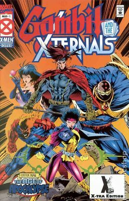 Gambit and the X-Ternals 2nd Printing #1 1995 FN Stock Image
