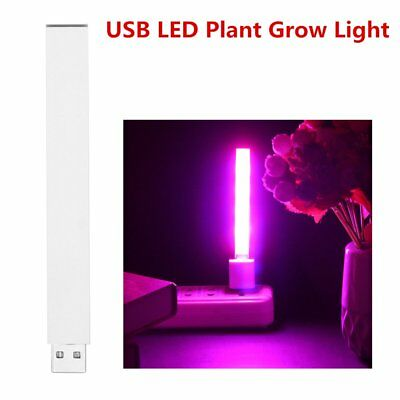USB LED Plant Grow Light Indoor Office Desk Plants Growth Small Home Fill Lamp