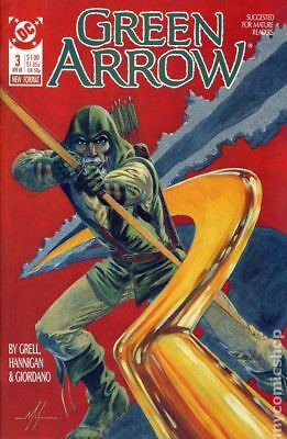 Green Arrow (1st Series) #3 1988 VF Stock Image