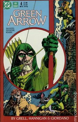 Green Arrow (1st Series) #4 1988 FN Stock Image
