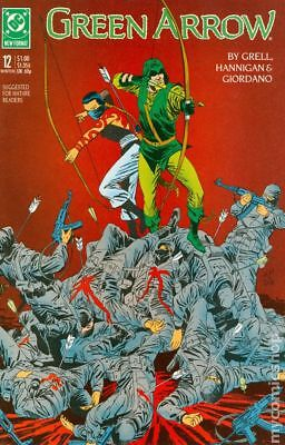 Green Arrow (1st Series) #12 1988 VF Stock Image