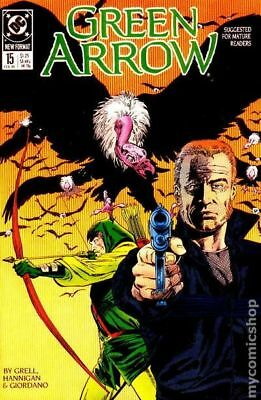 Green Arrow (1st Series) #15 1989 VF Stock Image